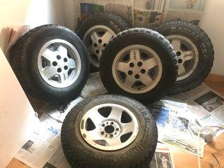 Ruedas jeep