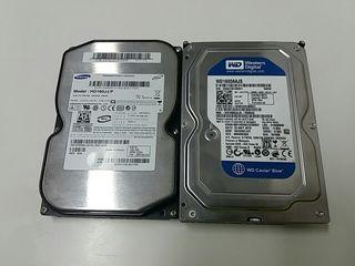 Discos duros Sata 160 GB.