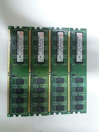 Memoria Ram Hynix 1GB. 1Rx8 PC2-6400U-666-12