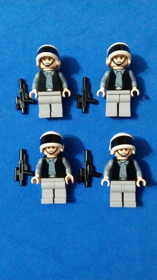 lego star wars original Soldados Rebeldes