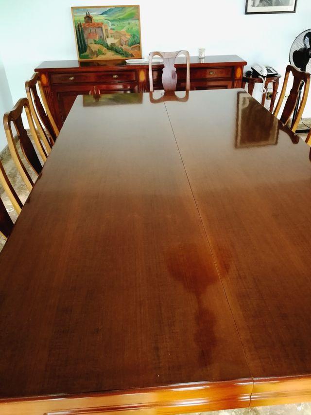 Mesa de billar francés convertible en mesa comedor de segunda mano ...