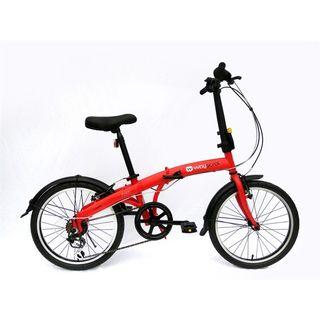 "Bicicleta plegable 20"" Wayscral foldy de Norauto."