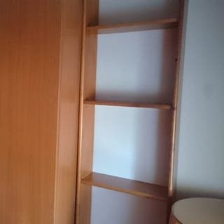 Estantería librería 4 baldas de pino, para anclar