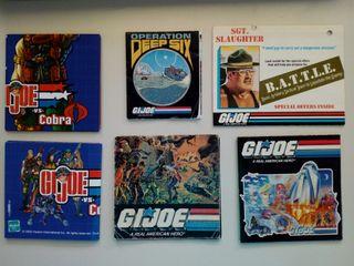 Lote catálogos G.I. Joe