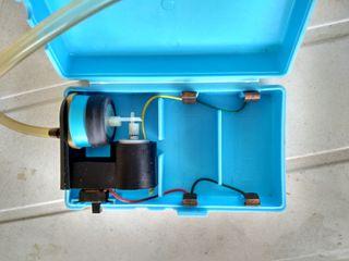 Aireador portátil para peces