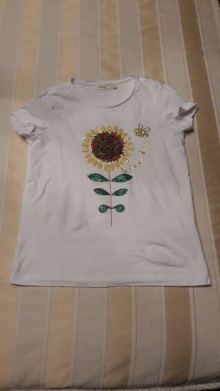 camiseta de niña marca sfera