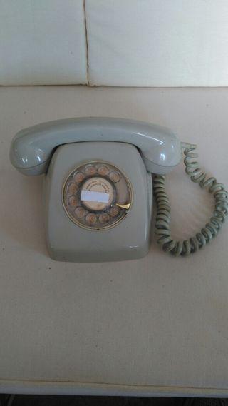 Teléfono vintage.