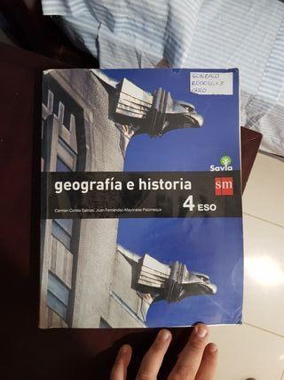 Libro 4 ESO Geografía e Historia SM