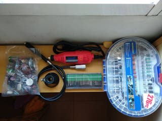 Minitaladro + 483 accesorios