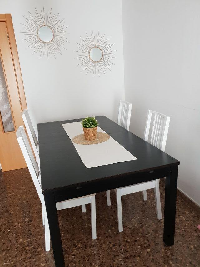Mesa de comedor EXTENSIBLE de Ikea de segunda mano por 80 € en ...