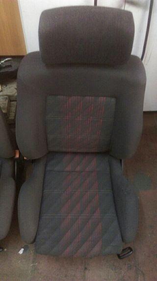 asientos delanteros golf gti 2 .mk 2