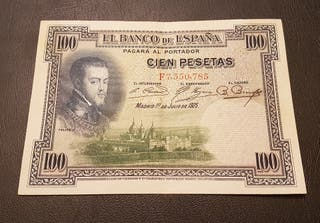 Billete 100 pesetas 1921 ebc