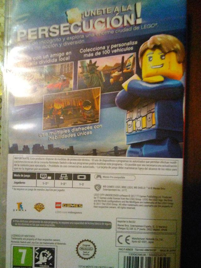Juego Lego City Undercover Para Nintendo Switch De Segunda Mano Por