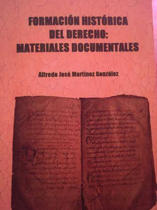 Materiales Formación H. del Derecho