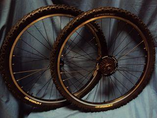 NUEVAS Ruedas frenos V 26 XLC Ryde 10 Bicicleta