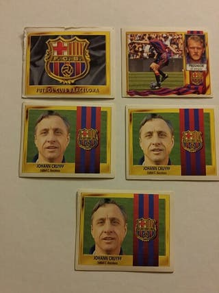 Cromos liga 95/96 Barcelona
