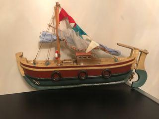 Barco de ceramica