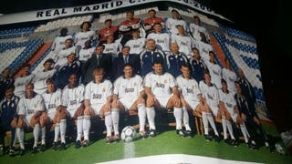 postel del real Madrid 2000.2001