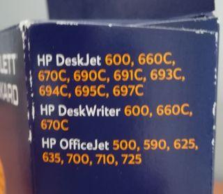 cartucho tinta impresora