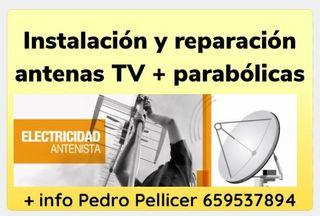 antenas tv y parabólicas