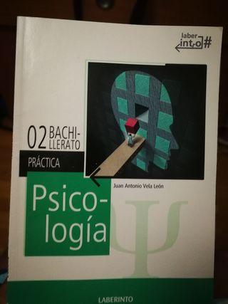libro de prácticas de psicología de 2 de bachiller