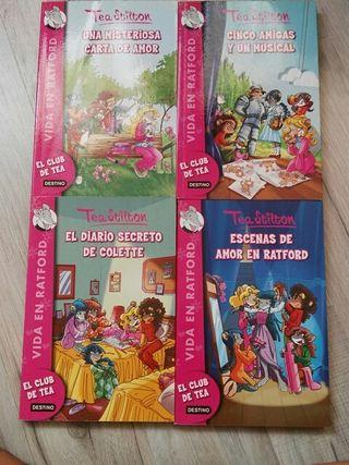 4 libros de lectura infantil (Tea Stilton)