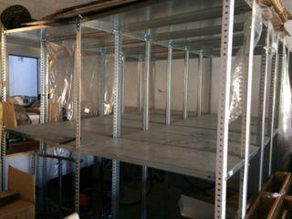 12 x Estanterias Metálicas Almacenaje usadas