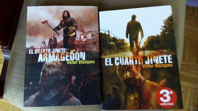 2 primeros libros saga El cuarto jinete de segunda mano por 10 € en ...