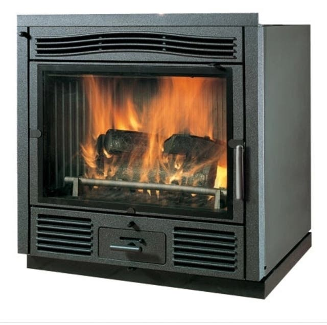 Chimenea estufa calefacci n de le a de segunda mano por for Chimeneas de lena para calefaccion