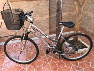 Bicicleta Sphera Coluer. Cambio de marcha