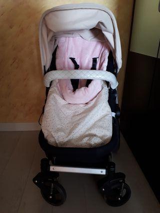 Carro bebe+grupo0 borsino baby (bugaboo)