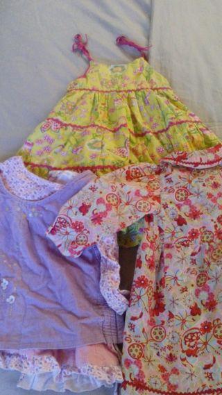 lote vestidos 2 años 24 meses