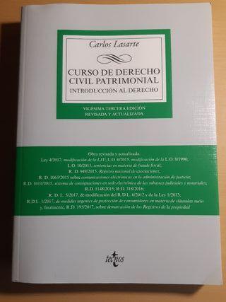 Introducción al Derecho (Civil patrimonial)