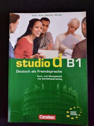 Libro alemán Studio d B1