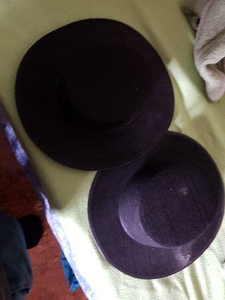 sombreros traje de corto
