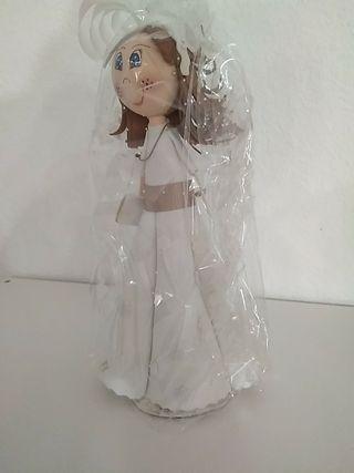 muñeca fofucha comunión