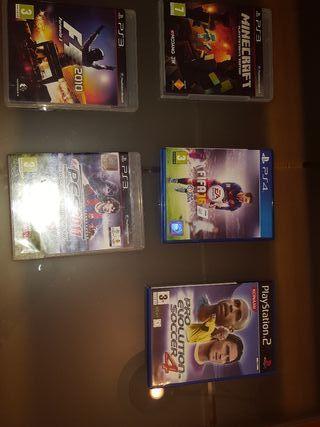 VIDEOJUEGOS PS2 PS3 PS4