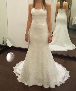 14661f768d Vestido de novia Rosa Clara de segunda mano en Oviedo en WALLAPOP
