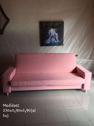 sofá cama nuevo de tienda