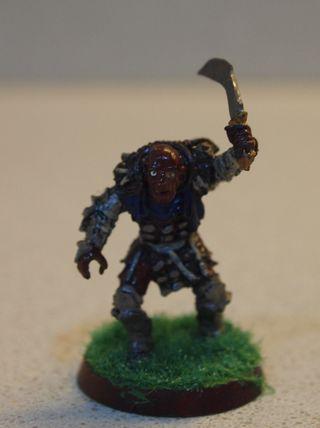 Grishnakh Warhammer Orco El señor de los anillos