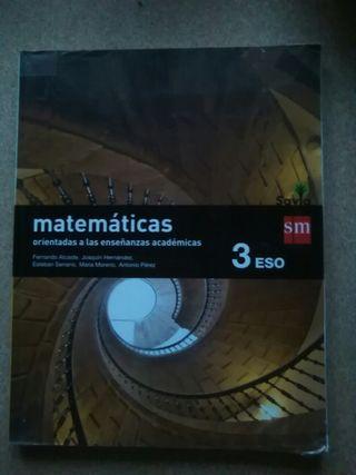 Libro 3° de ESO Mates SM