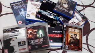 Lote Silent Hill PS2 y PS3.