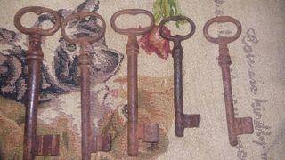 5 llaves antiguas