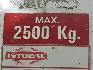elevador de coches 2.500klg istobal