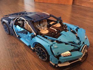 Lego Bugatti Chiron 42083 Montado