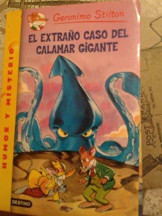 Libros Jerónimo Stilton