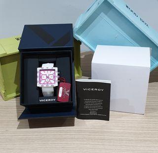 Nuevo etiquetas reloj viceroy mujer 432101-95