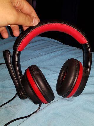 cascos NGS para PC con micrófono