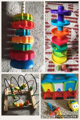 Lote 4 juegos/juguetes