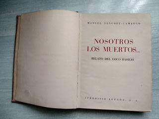 Libro antiguo Nosotros los muertos 1 edición